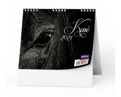 Stolní kalendář IDEÁL 2021 - Koně