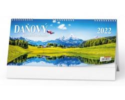 Stolní kalendář Československý daňový 2022 - Příroda
