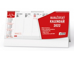 Stolní kalendář Manažerský 2022