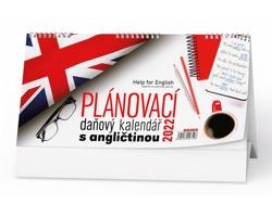 Stolní kalendář Plánovací daňový s angličtinou 2022