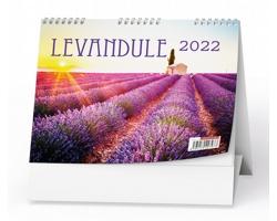 Stolní kalendář Levandule 2022