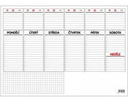 Stolní plánovací kalendář 2021, A3 - 30 listů