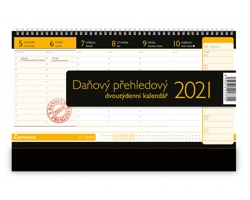 Stolní kalendář Daňový přehledový 2021