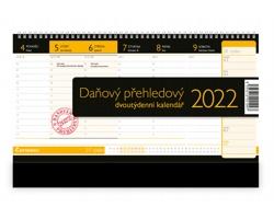 Stolní kalendář Daňový přehledový 2022