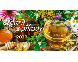 Stolní kalendář Zdraví z přírody 2022