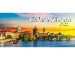 Stolní kalendář Čechy a Morava 2022