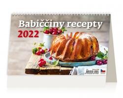 Stolní kalendář Babiččiny recepty 2022