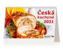 Stolní kalendář Česká kuchyně 2021