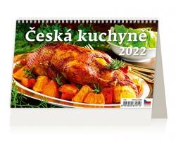 Stolní kalendář Česká kuchyně 2022