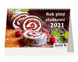 Stolní kalendář Rok plný sladkostí 2021