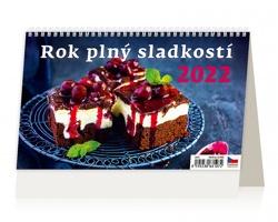 Stolní kalendář Rok plný sladkostí 2022