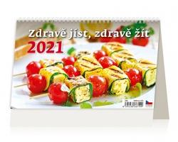 Stolní kalendář Zdravě jíst, zdravě žít 2021