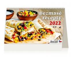 Stolní kalendář Bezmasé recepty 2022