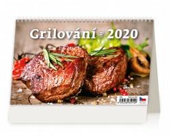 Stolní kalendář Grilování 2020