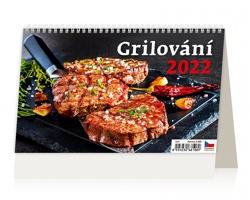 Stolní kalendář Grilování 2022