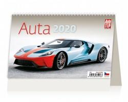 Stolní kalendář Auta 2020