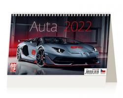 Stolní kalendář Auta 2022