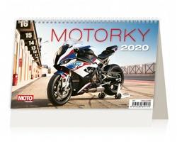 Stolní kalendář Motorky ČR/SR 2020