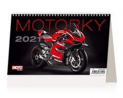 Stolní kalendář Motorky ČR/SR 2021