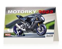 Stolní kalendář Motorky ČR/SR 2022