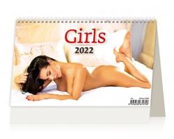 Stolní kalendář Girls ČR/SR 2022