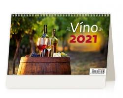 Stolní kalendář Víno ČR/SR 2021