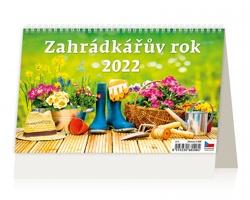 Stolní kalendář Zahrádkářův rok 2022