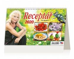 Stolní kalendář Receptář 2020