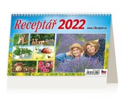 Stolní kalendář Receptář 2022