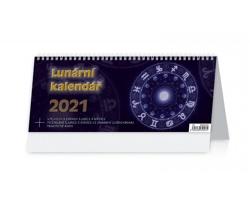 Stolní kalendář Lunární kalendář 2021