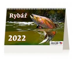 Stolní kalendář Rybář 2022