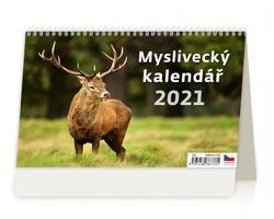 Stolní kalendář Myslivecký kalendář 2021