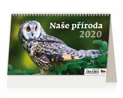 Stolní kalendář Naše příroda 2020