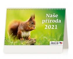 Stolní kalendář Naše příroda 2021