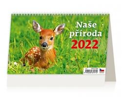 Stolní kalendář Naše příroda 2022