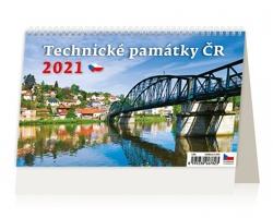 Stolní kalendář Technické památky ČR 2021