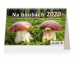 Stolní kalendář Na houbách 2020
