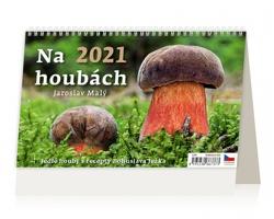Stolní kalendář Na houbách 2021