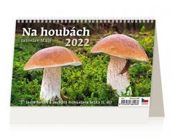 Stolní kalendář Na houbách 2022