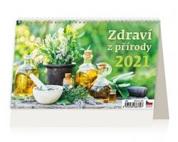 Stolní kalendář Zdraví z přírody 2021