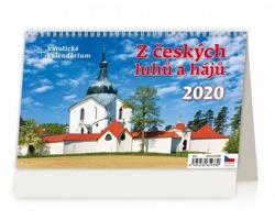 Stolní kalendář Z českých luhů a hájů 2020