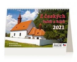 Stolní kalendář Z českých luhů a hájů 2021