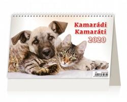 Stolní kalendář Kamarádi / Kamaráti 2020