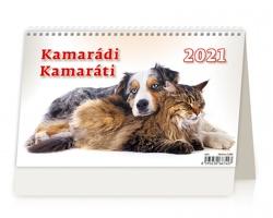 Stolní kalendář Kamarádi/Kamaráti 2021