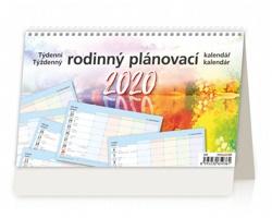 Stolní kalendář Rodinný plánovací 2020