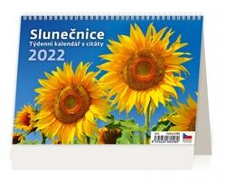 Stolní kalendář Slunečnice 2022