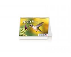 Stolní kalendář 14denní 2020 - Mini