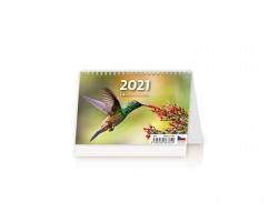 Stolní kalendář 14denní kalendář 2021 - Mini