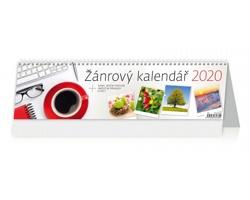 Stolní kalendář Žánrový 2020