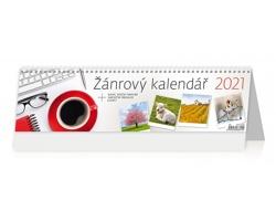 Stolní kalendář Žánrový 2021